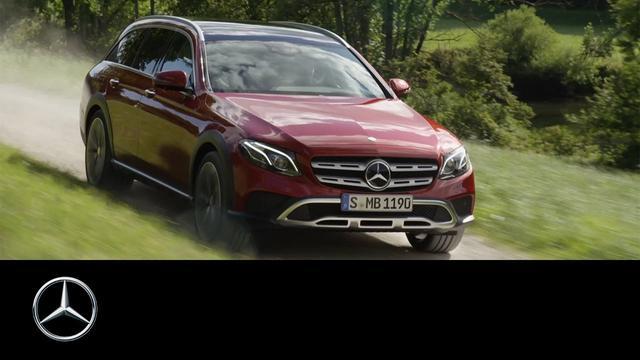 画像: The new E-Class All-Terrain – Trailer – Mercedes-Benz Original www.youtube.com