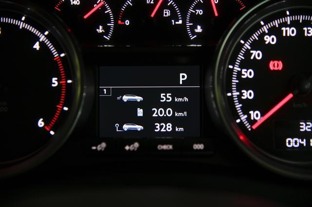 画像: 復路に乗った508SW GT BlueHDi。平均燃費は20.0km/Lを超えた。