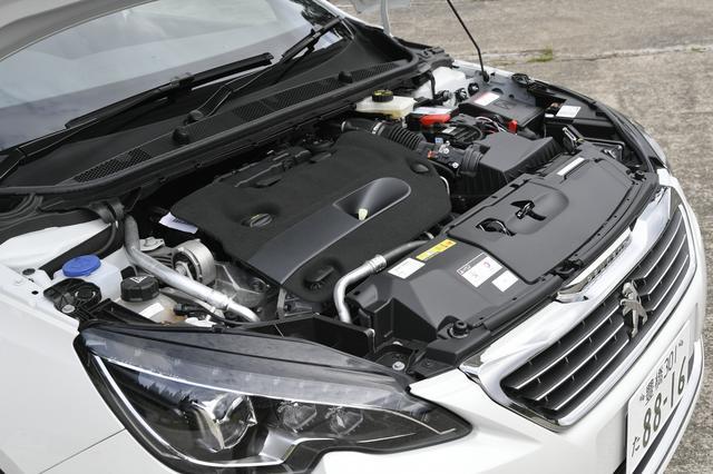 画像: 往路は2L直4ディーゼルターボエンジン搭載の「308 SW GT BlueHDi」を試乗。トルクフルで長距離も疲れない。