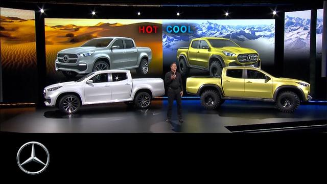 画像: Concept X-Class: Der Mercedes unter den Pickups #MBPickup www.youtube.com