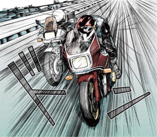画像: 向こう側にいるか、こっち側にいるのか。 東本昌平先生が贈る、男たちの憧れ『キリン』の世界 ~「キリン」を彩る名車たち:HONDA CB1100R ~ - LAWRENCE - Motorcycle x Cars + α = Your Life.