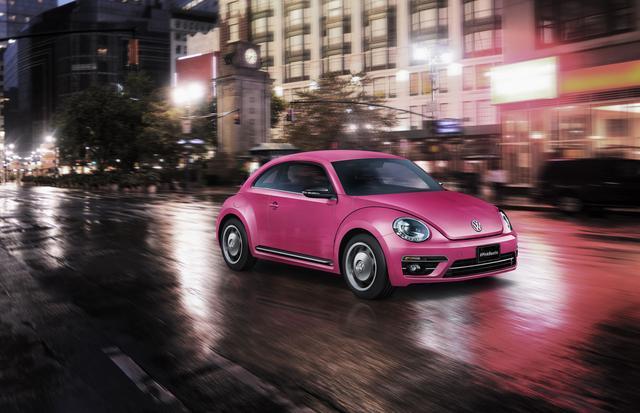 画像1: ボディカラーに「The Beetle」初のピンク色を採用