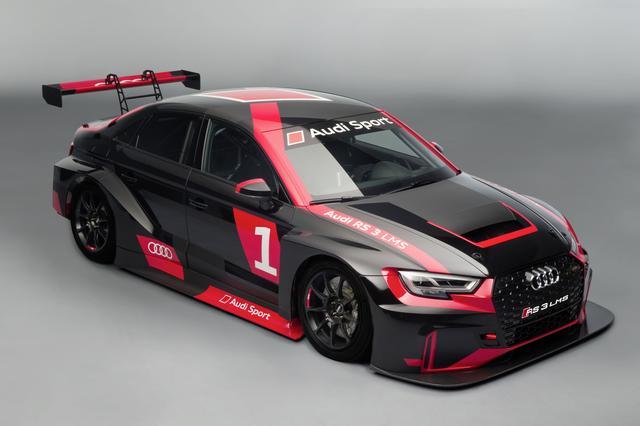 画像: ストリートバージョンのRS3セダンより早く、レーシングバージョンの RS 3 LMSが日本に上陸することになりそうだ。