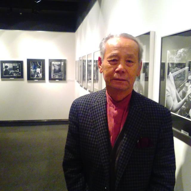 画像: 在廊されていた鈴木サトシ氏。御年80歳にして益々盛ん!