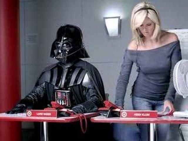 画像: Darth Vader Heidi Klum www.youtube.com