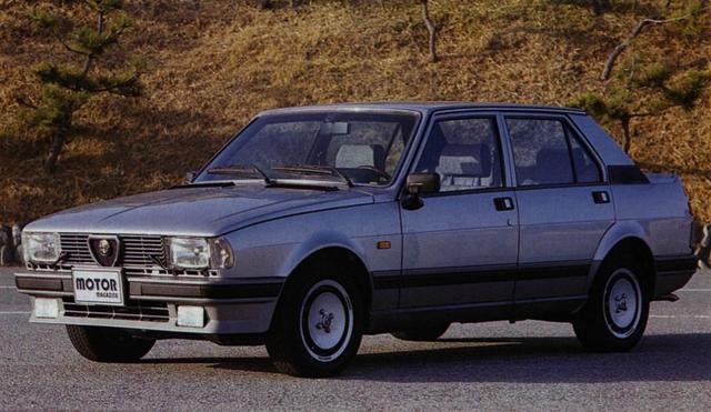 画像: アルファロメオ ジュリエッタ(1985年)