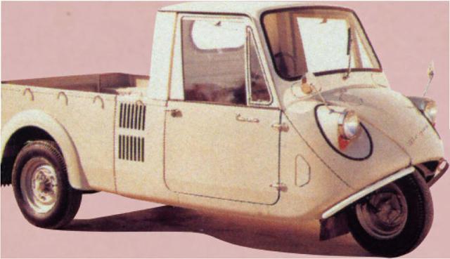 画像: 【MAZDA&SUBARU】語り継がれる名車の系譜: MAZDA K360 1959.05~ - LAWRENCE - Motorcycle x Cars + α = Your Life.