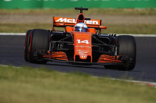 画像: 少しずつ上昇しているように感じられるマクラーレンホンダ。写真は日本GPでのアロンソ(11位)。バンドーン14位だった。