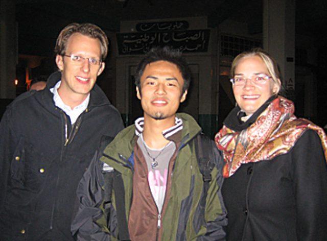 画像: ドイツ人の経営コンサルタントたちと小沼氏