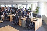 画像: 東京オフィス、執務室