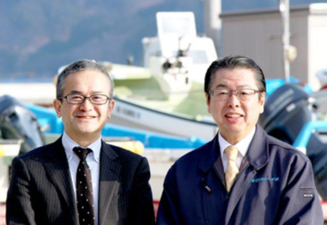 画像: 日立ソリューションズの増田典生氏(左)と佐藤氏