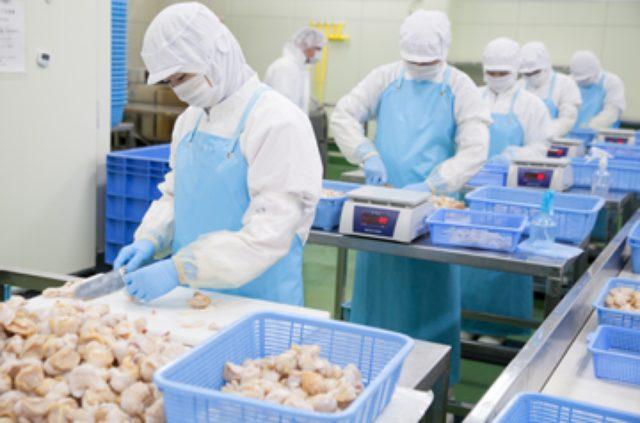 画像: 工場での加工の様子