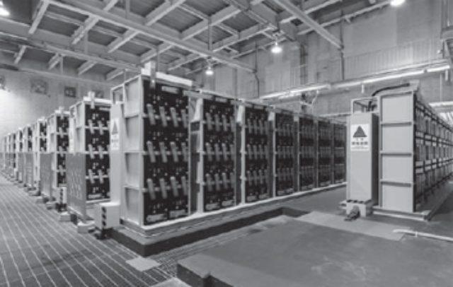 画像: 鉛蓄電池設備