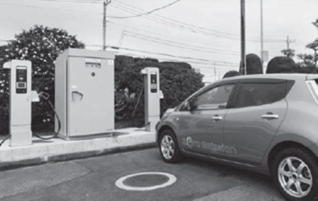 画像: EV急速充電器