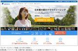 画像: 「ランサーズ」のトップ画面(2014年3月現在)。 依頼総額、クライアント数、依頼件数、登録者数といった指標が日々更新されている