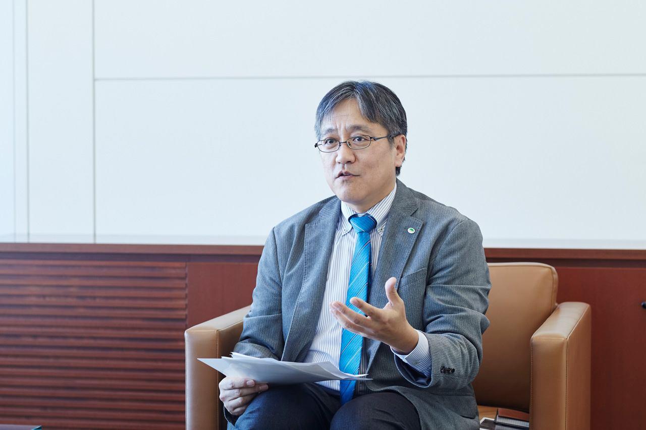 株式会社日立コンサルティング 代表取締役 取締役社長 八尋俊英氏