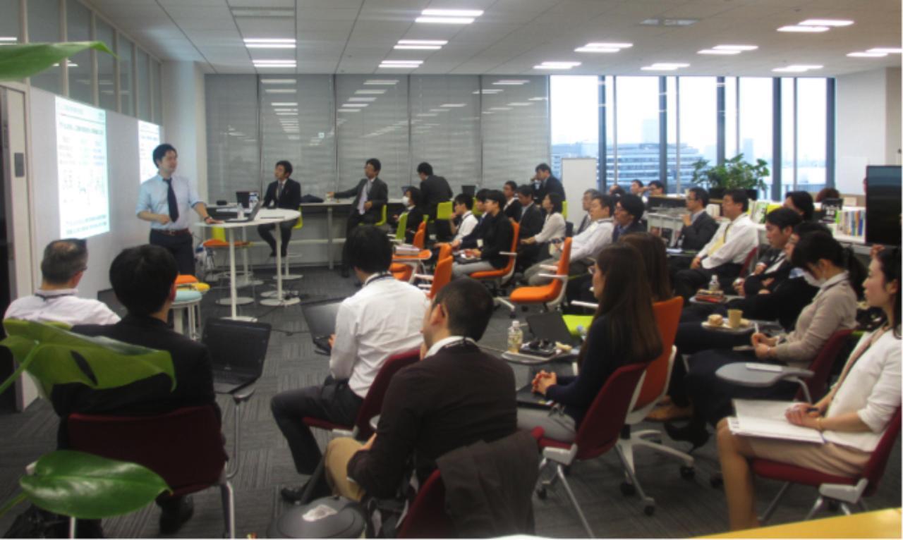 画像: 事例発表会など、交流の場で得られるもの