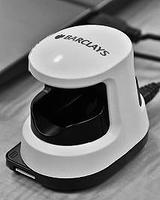 画像: 英国バークレイズ社が運用する指静脈認証装置