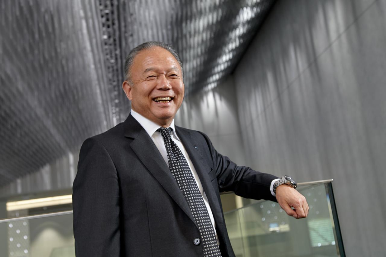 YKK株式会社 代表取締役会長CEO 兼 YKK AP株式会社 代表取締役会長CEO 吉田忠裕氏