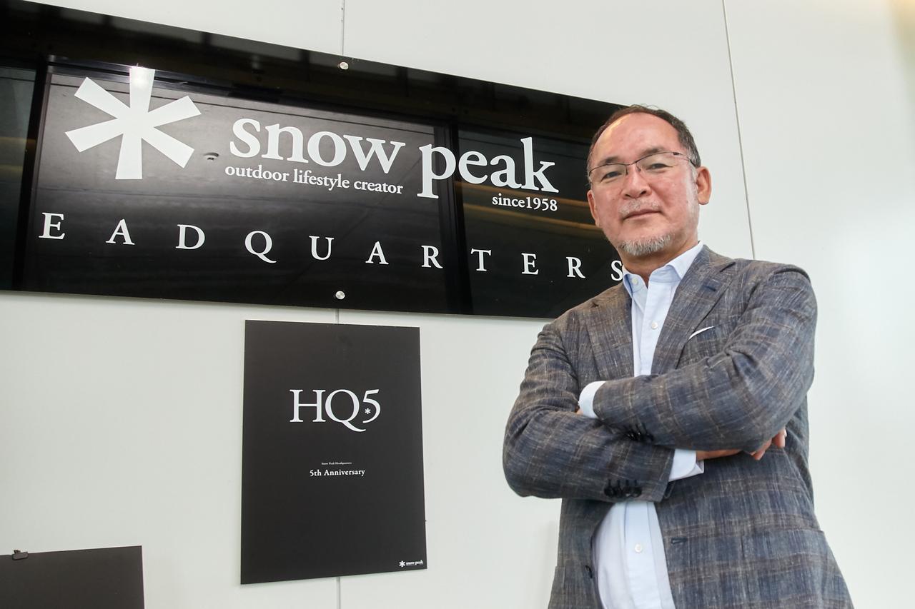 株式会社スノーピーク 代表取締役社長 山井太氏