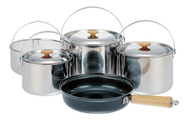 画像: ステンレス製鍋をはじめとする、スノーピークの調理器具商品