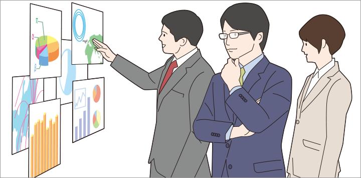 画像: 日立では既にデジタルマーケティングのPDCAを支援する実証実験を始めておりそれを活用することで、マーケターは現状のマーケティング課題を把握。