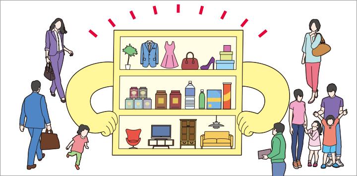 """画像: これまでは、""""いい商品""""を揃えておけば、消費者が店頭に足を運び、気に入れば購入するというスタイルが一般的でした。"""