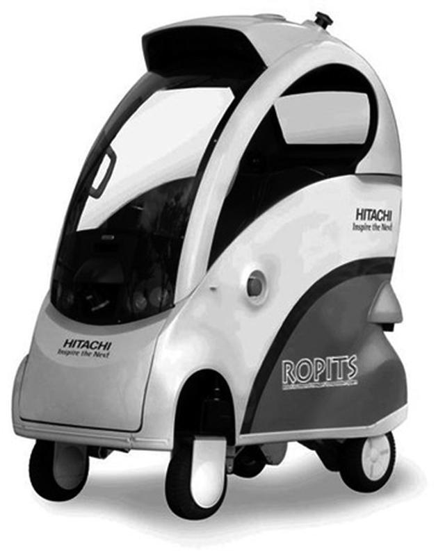 画像: 一人乗りの移動支援ロボット「ROPITS」
