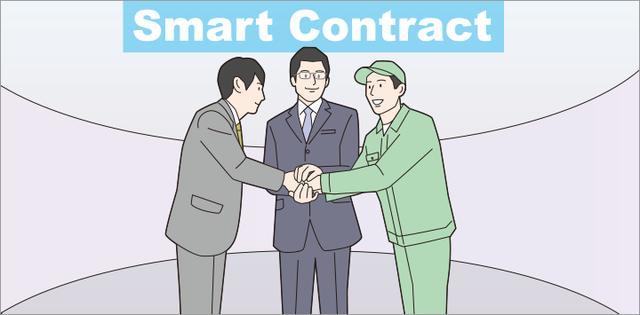"""画像: 直訳すると""""賢い契約""""を意味する「スマートコントラクト」の世界が広がろうとしています。"""