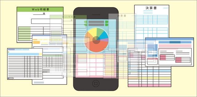 画像: そして現在、さらなる技術の進化により、これまでと異なる金融サービスが続々と登場。たとえば、クレジットカードのWeb明細と同期して帳簿や決算書の作成を自動化する「家計簿アプリ」などもその一例です。