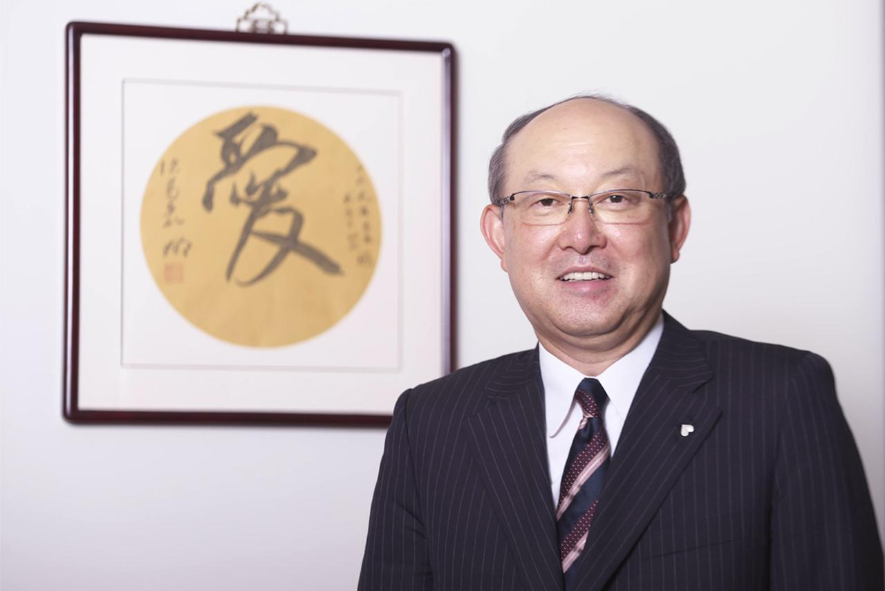 ピジョン株式会社 代表取締役社長 山下茂氏