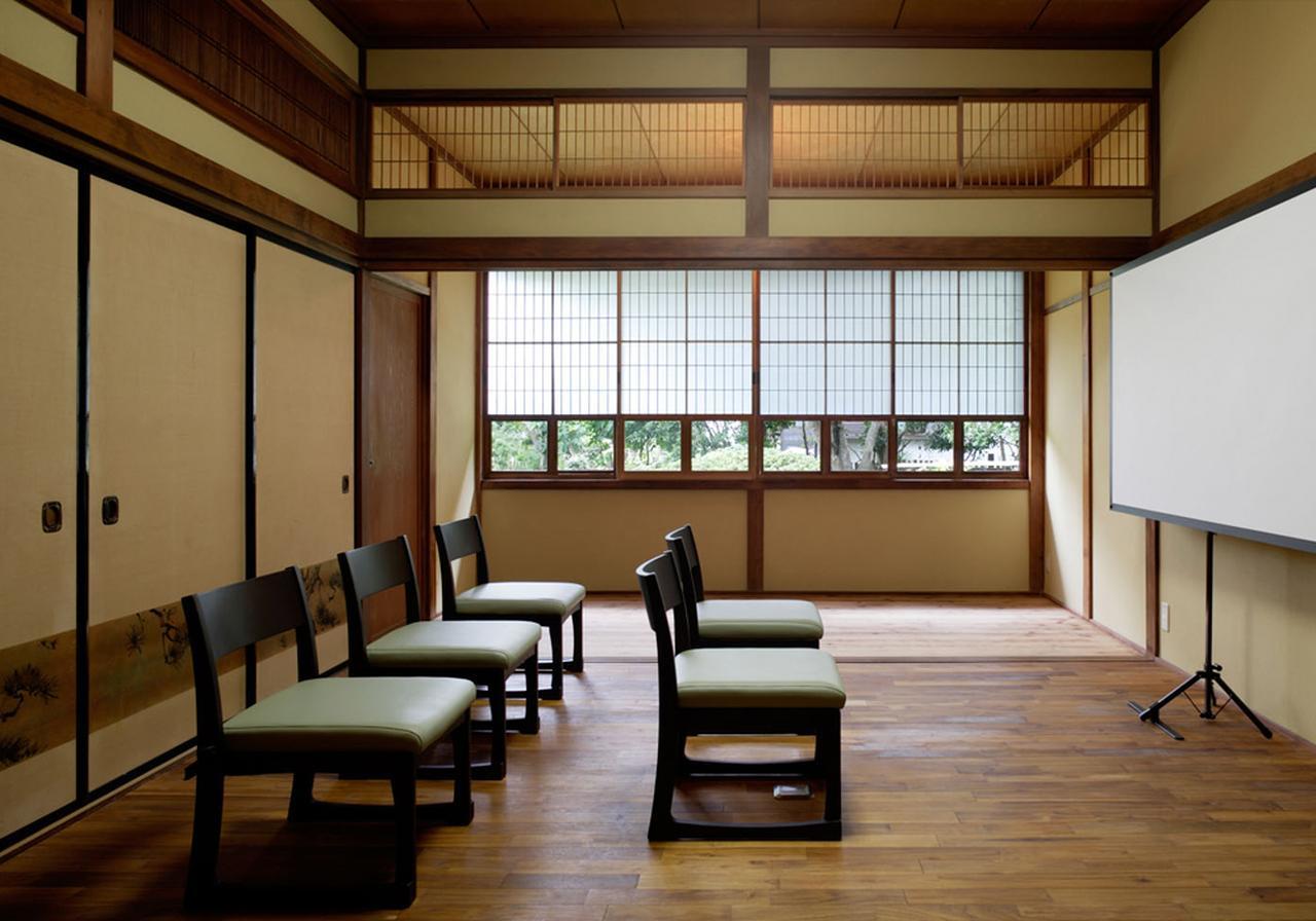 画像: 社屋は投資家向け説明会の会場としても使われている。