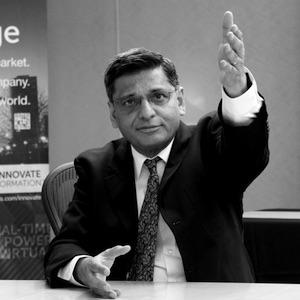 画像: Dr. Umeshwar Dayal ,Vice President, Big Data Lab & Senior Fellow, Information Research and Co-Chair, Global Big Data Lab. Big Data Research Laboratory Hitachi America, Ltd. Research & Development Division