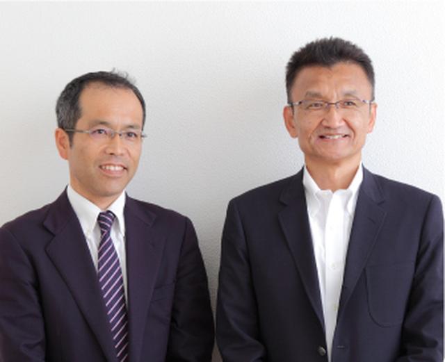 画像: 写真右:代表取締役社長 成澤功(なりさわいさお)氏 写真左:健康支援部長 野田隆行(のだたかゆき)氏