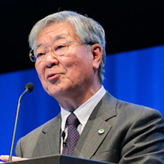 画像: 中西 宏明 株式会社日立製作所 執行役会長 兼CEO