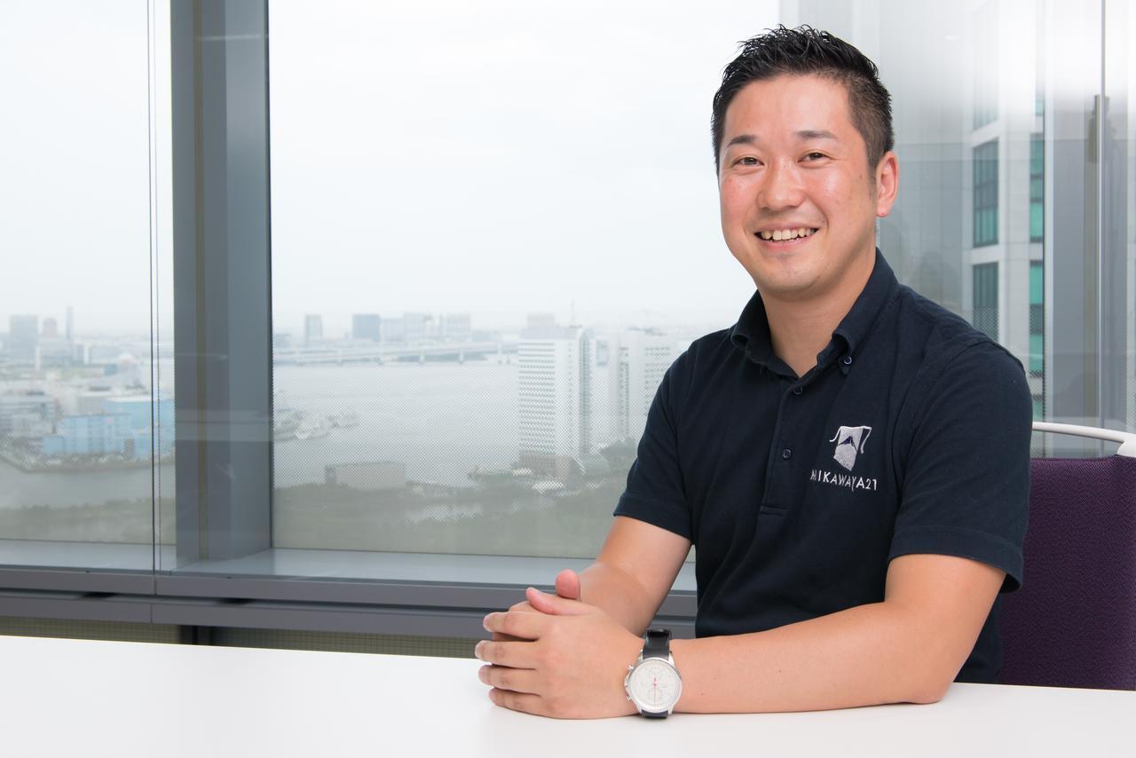 MIKAWAYA21株式会社 代表取締役社長 青木慶哉氏