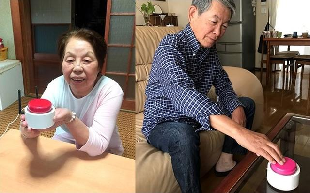 画像: 孫とやりとりができたり、忘れがちな薬の時間などを教えてくれるMAGOボタンは、多くのお年寄りにとって「部屋にあるだけで安心できるデバイス」となっている。