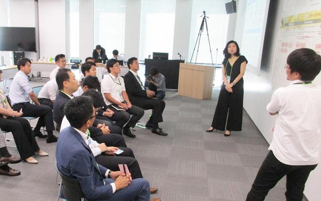 画像: 個人・企業・地域社会に分けたワークショップを開催