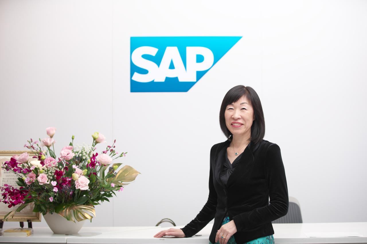 SAPジャパン株式会社 バイスプレジデント 人事戦略担当 アキレス美知子氏