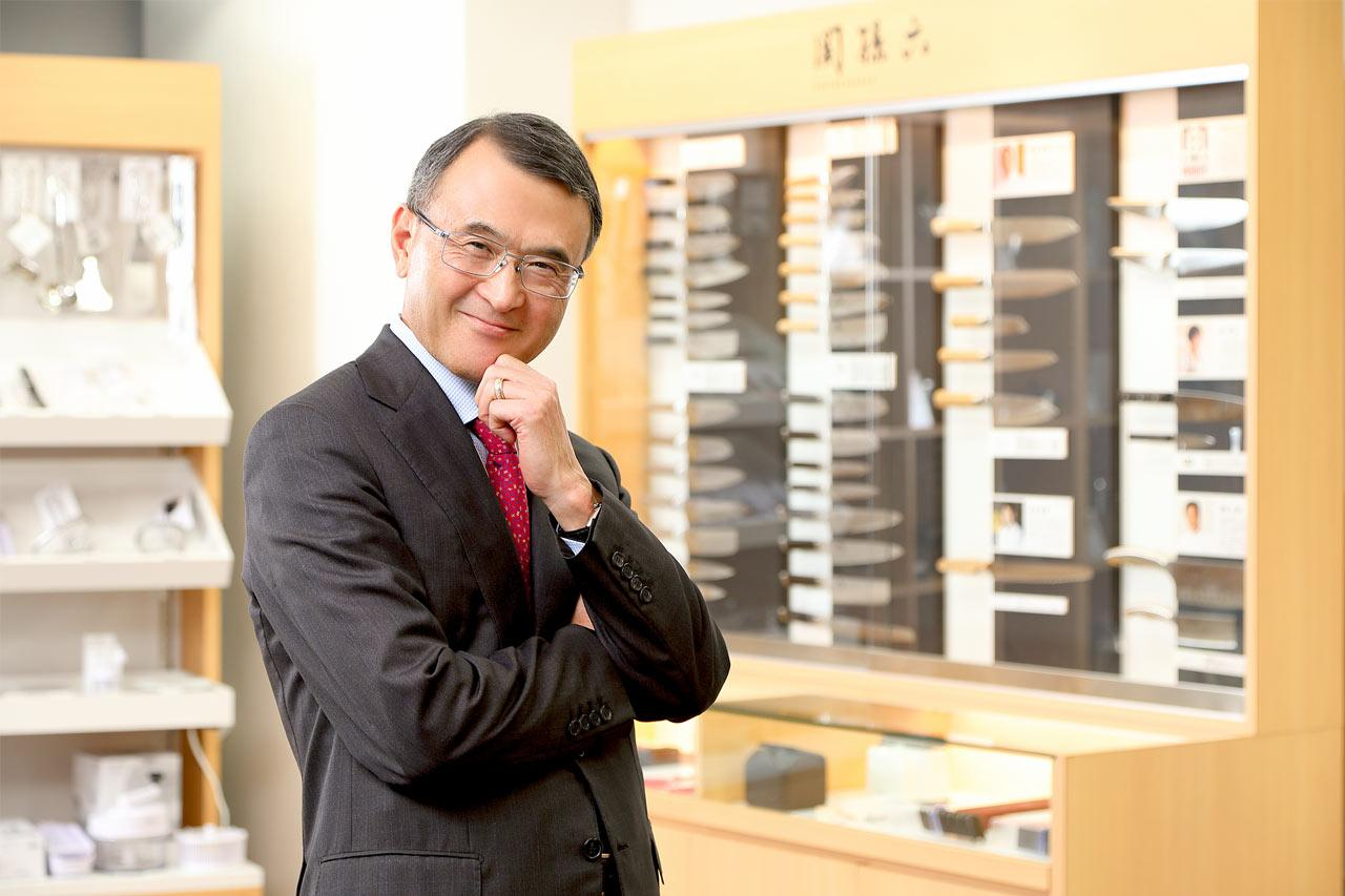 貝印株式会社 / カイ インダストリーズ株式会社 代表取締役社長 遠藤宏治氏