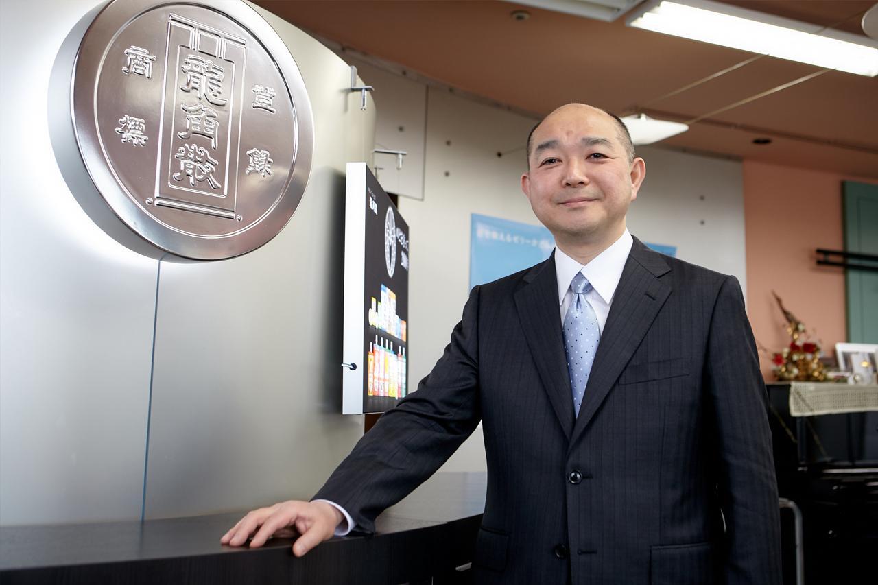 株式会社龍角散 代表取締役社長 藤井隆太氏