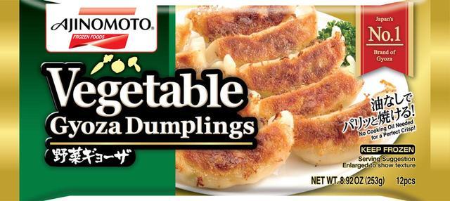 画像: 味の素グループがアメリカで販売している冷凍餃子。