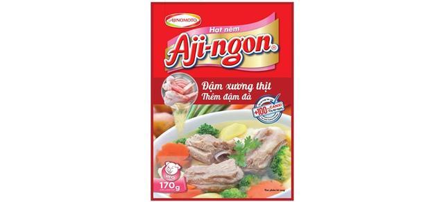 画像: ベトナム味の素社が販売している風味調味料「Aji-ngon」。
