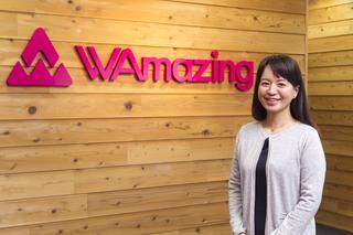 WAmazing株式会社 代表取締役社長/CEO 加藤史子氏