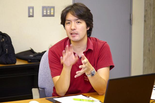 画像: 塩尻・木曽地域地場産業振興センターの百瀬友彦氏
