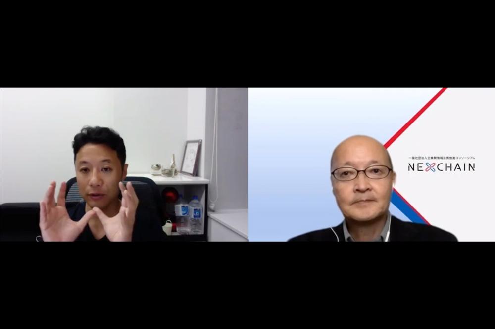 画像: 左から入山章栄氏、市川芳明氏