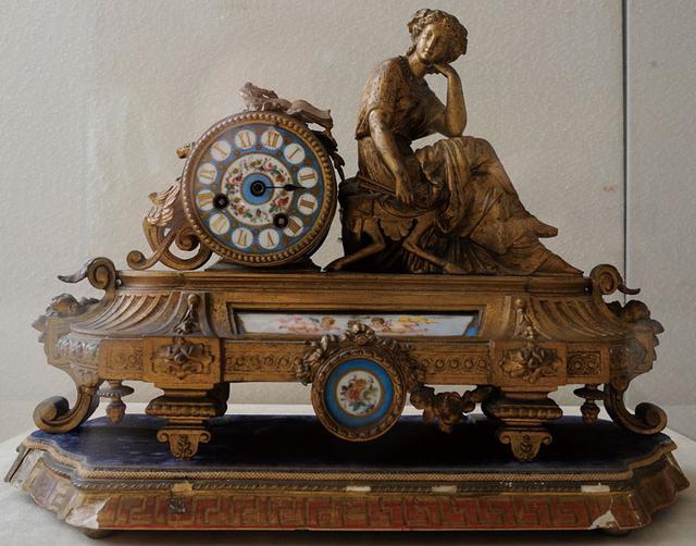 画像: 久米邦武が土産で持ち帰った置時計。