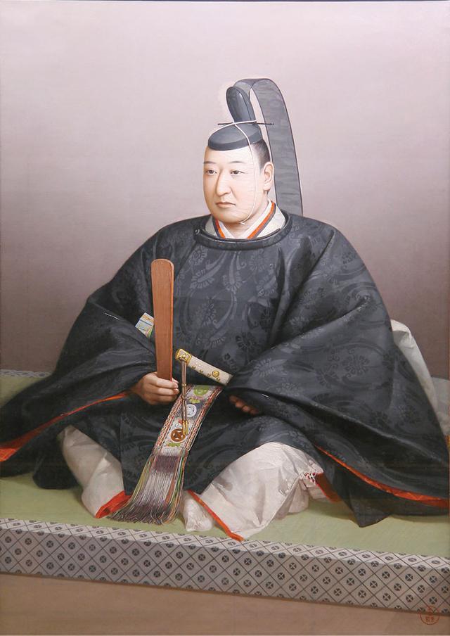 画像: 阿部正弘の肖像。福山誠之館同窓会所蔵