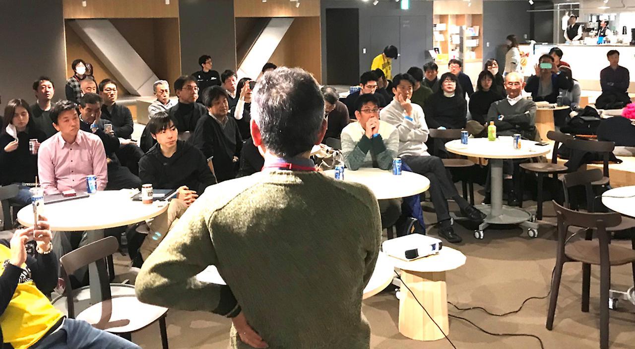 画像: 2020年2月に渋谷で開催されたSIGNのイベント「イノベーターズBUNKASAI」の様子。