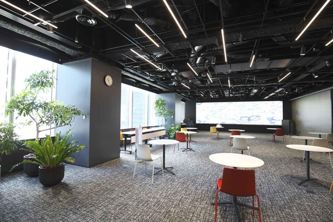 画像: Lumada Innovation Hub Tokyo(LIHT)